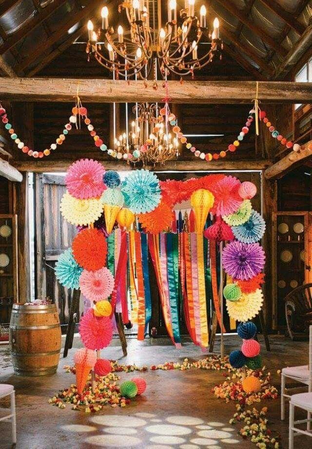 decoration mariage kitsch