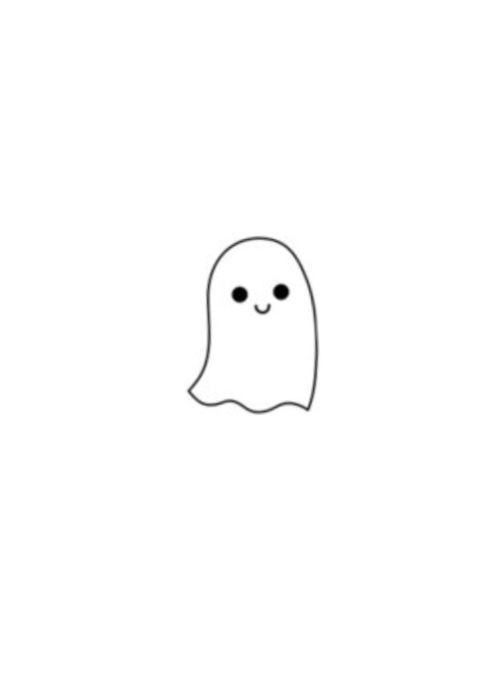 We Heart It Drawing Ghost And Halloween Mini Drawings Easy