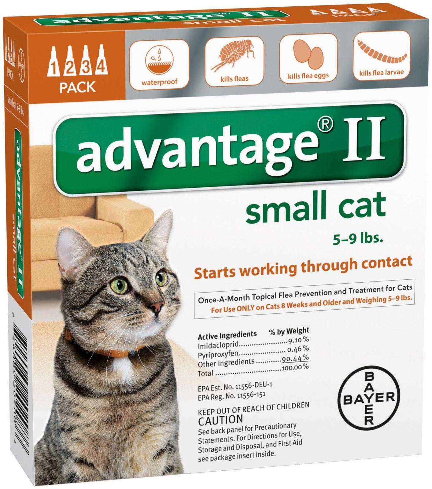 Advantage Ii Small Cat Free Shipping Flea Treatment For Kittens