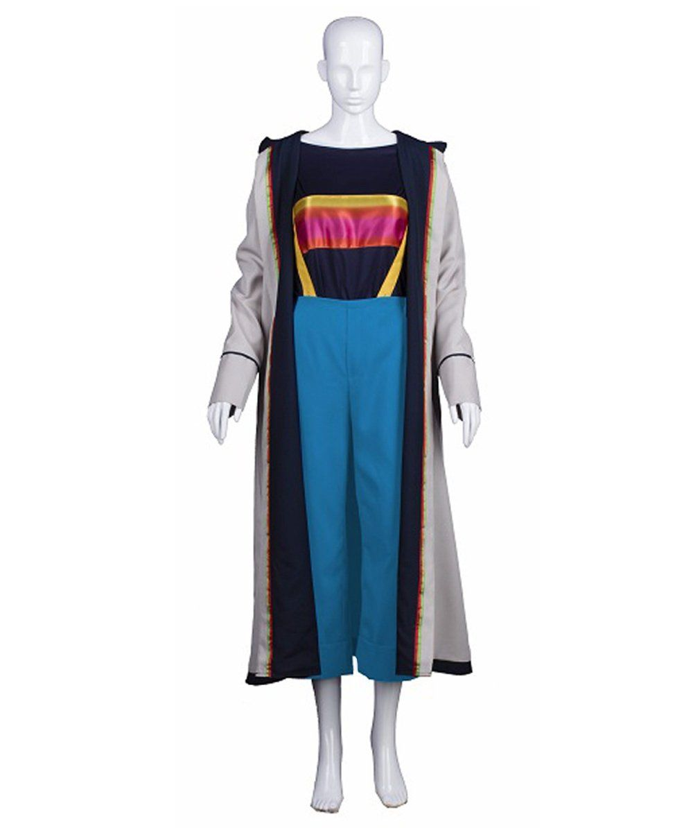 Adult Women's Doctor Who 13th Doctor TV/Movie Costume ...
