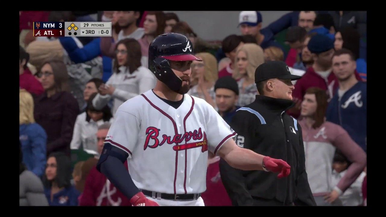 Mlb The Show 19 New York Mets Atlanta Braves March To October Atlanta Braves New York Mets Mlb The Show