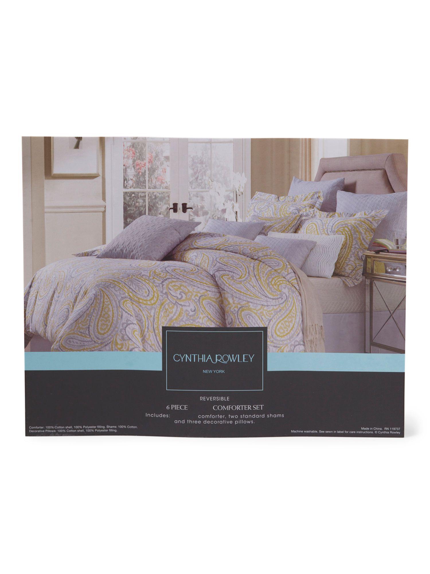 6pc Vienna Comforter Set Comforters & Duvets T.J.Maxx