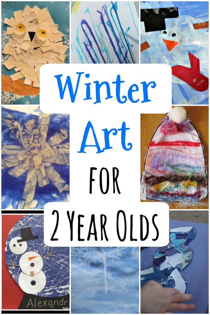 Winter Art For 2 Year Olds To Make Pinterest Manualidades