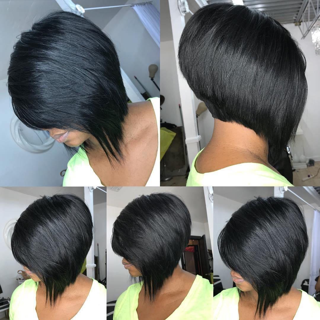 12 Showiest Bob Haircuts for Black Women   Bob hairstyles, Short ...