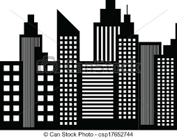 Resultado de imagen de edificios silueta de batman ...
