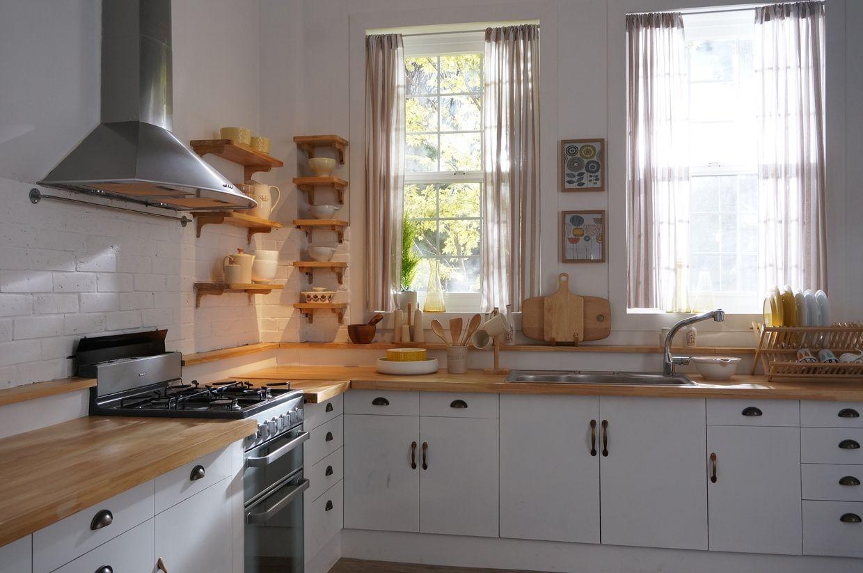 Butcher Block Countertops Korean Kitchen Picture