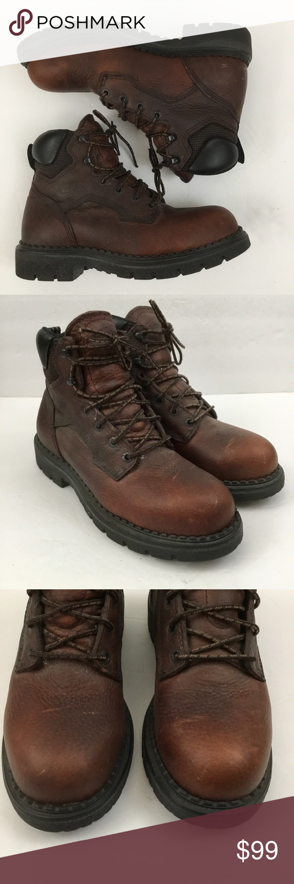 Red Wing Shoes Supersole Steel Toe Work Boots Red Wing