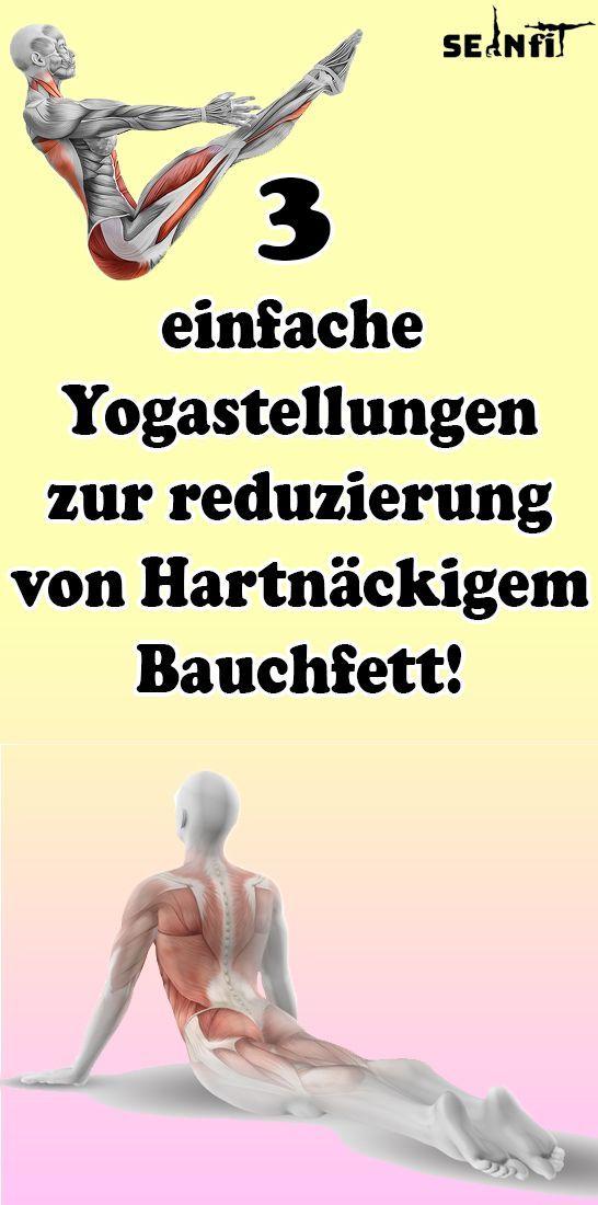 3 einfache Yogastellungen zur reduzierung von Hartnäckigem Bauchfett