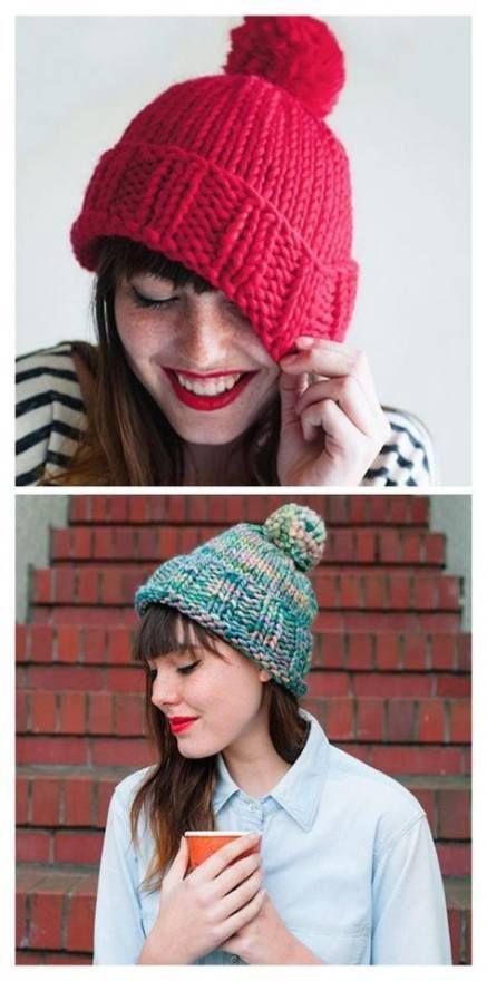 Knitting Hat Free Pattern Women 43+ Ideas For 2019 ...