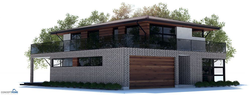 Modern House Ch238 House Design Facade House Two Bedroom House Design