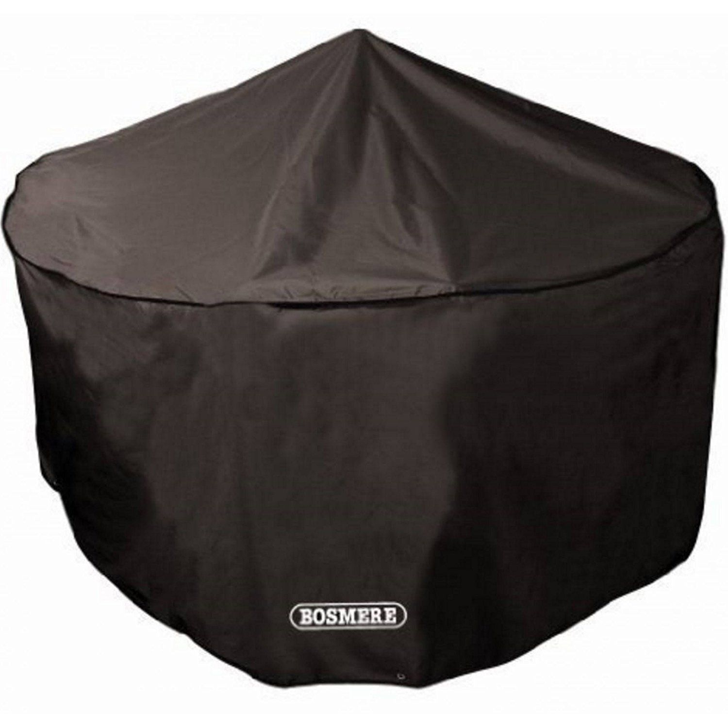 Bosmere D515 Storm Black 4 Seat Circular Patio Set Cover Continue To The Product At The Image Garden Furniture Covers Circular Patio Quality Garden Furniture