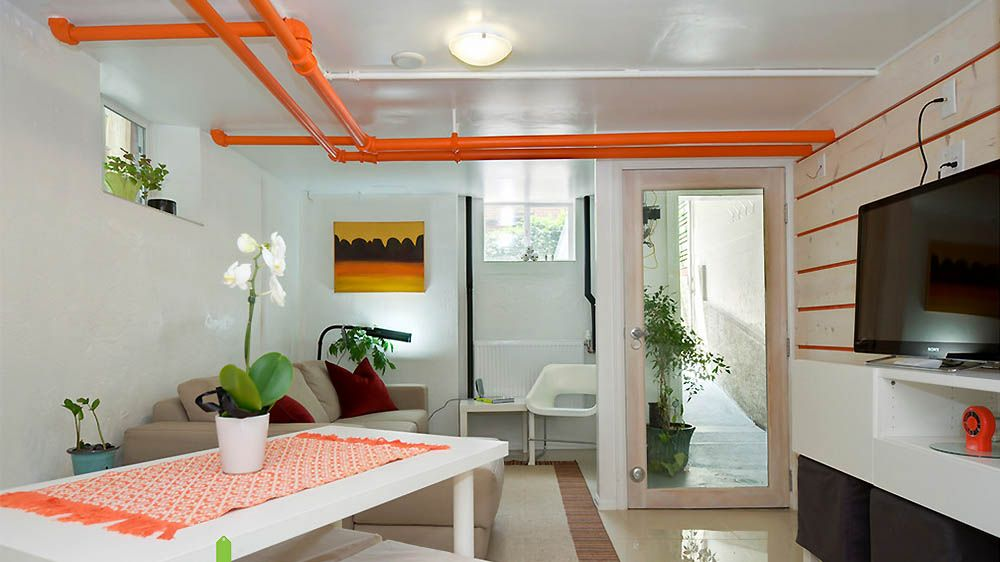 comment cacher des tuyaux apparents tuyau cacher et la peinture. Black Bedroom Furniture Sets. Home Design Ideas