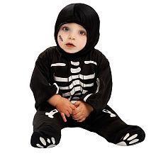 ¿Habíais visto a un esqueleto más encantador? Además de cómodo, con este disfraz de #esqueleto tu bebé podrá llevar su ropa normal debajo y no pasará frío.