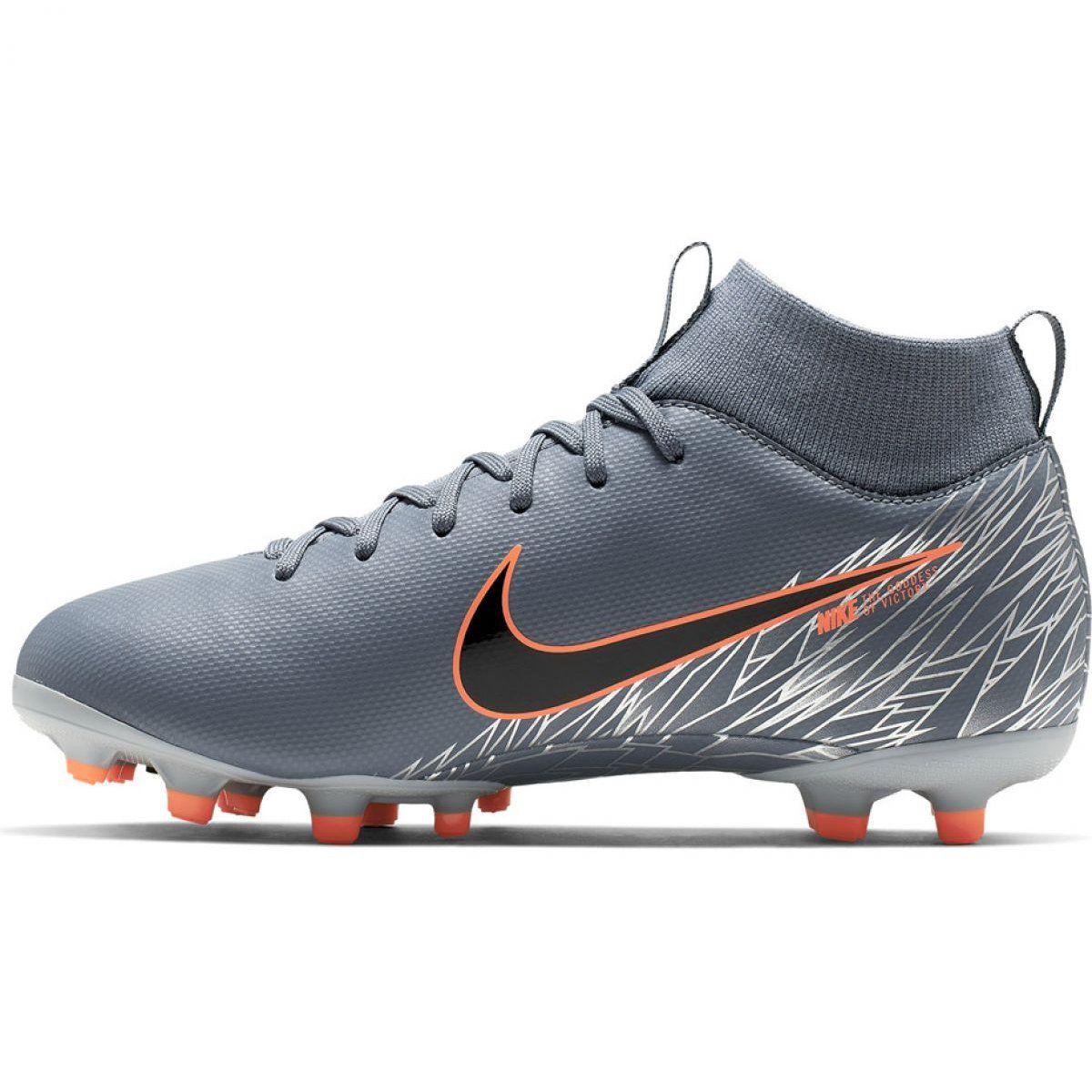 Buty Pilkarskie Nike Mercurial Superfly 6 Academy Mg Jr Ah7337 408 Wielokolorowe Szare Football Shoes Boys Football Boots Superfly
