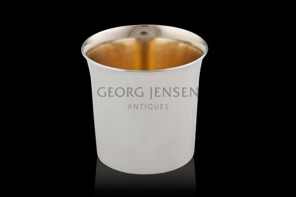 Modern Georg Jensen Gilded Cup 1142B