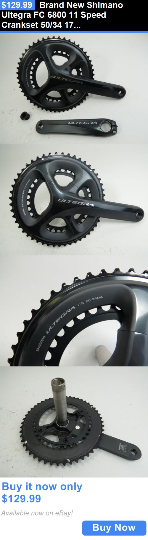 Bicycle Parts Brand New Shimano Ultegra Fc 6800 11 Speed Crankset