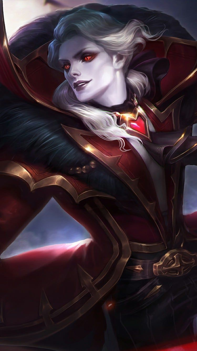 Alucard Mobile Legends Child Of The Fall Wallpaper Wallpaper Mobile Legends Alucard Ml Alucard Mobile