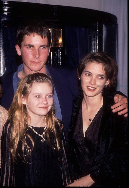 Christian Bale Kirsten Dunst Winona Ryder 1994 Winona Ryder