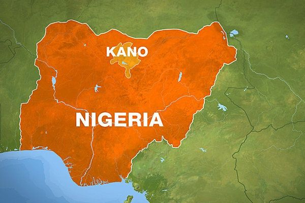 Kano state on Nigerian map Places to Visit Pinterest
