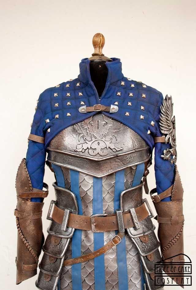 Dragon Age - Grey Warden by Piece of Cake Cosplay   Female armor. Fantasy armor. Armor