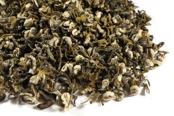 Photo of Bi Luo Chun Green Tea. All Natural Classic Gourmet Whole Leaf Green Tea. Green T…