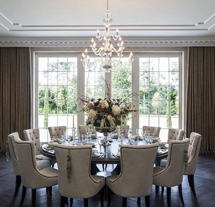 Formal Dining Room Elegant Dining Room Family Dining Rooms Round Dining Room