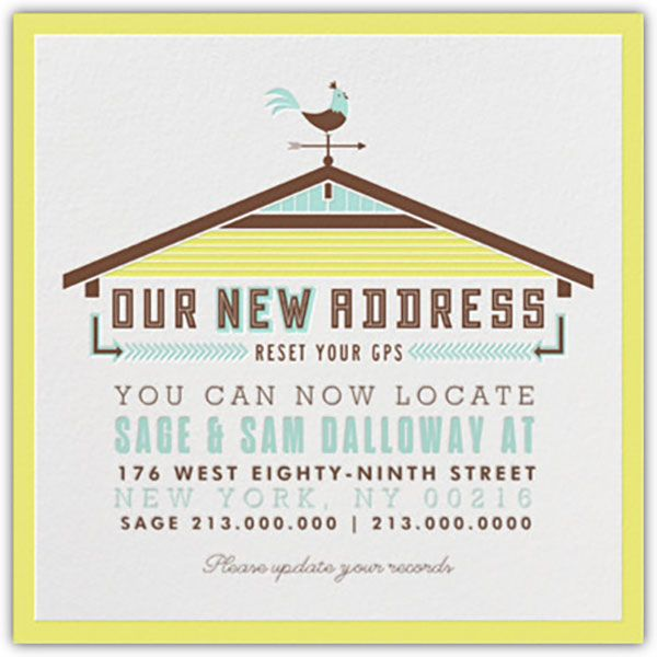 Weu0027re Moving Change of Address Cards {free printables - free change address