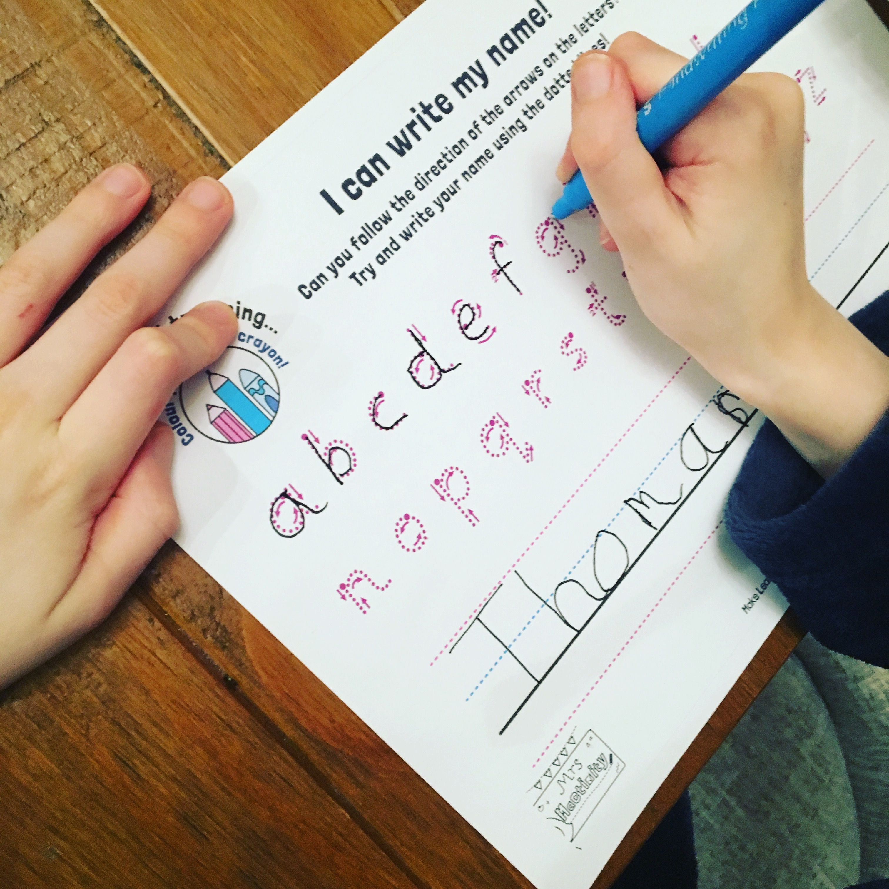 Pin By Mrs Mactivity On Handwriting Resources