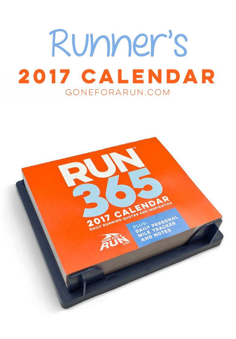 Inspirational Runner S 2021 Daily Desk Calendar Daily Desk Calendar Desk Calendars Calendar