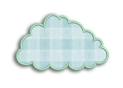 Cloud Applique - 3 Sizes! | Spring | Machine Embroidery Designs | SWAKembroidery.com Fancy Fonts Embroidery