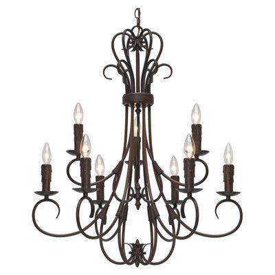 Wildon home porter 9 light chandelier reviews wayfair
