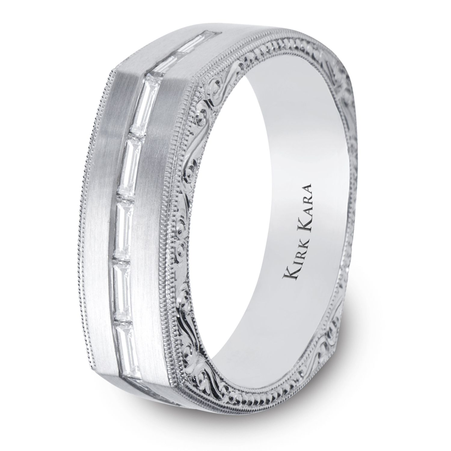 Masculine Yet Sophisticated Men S Wedding Band From The Artin