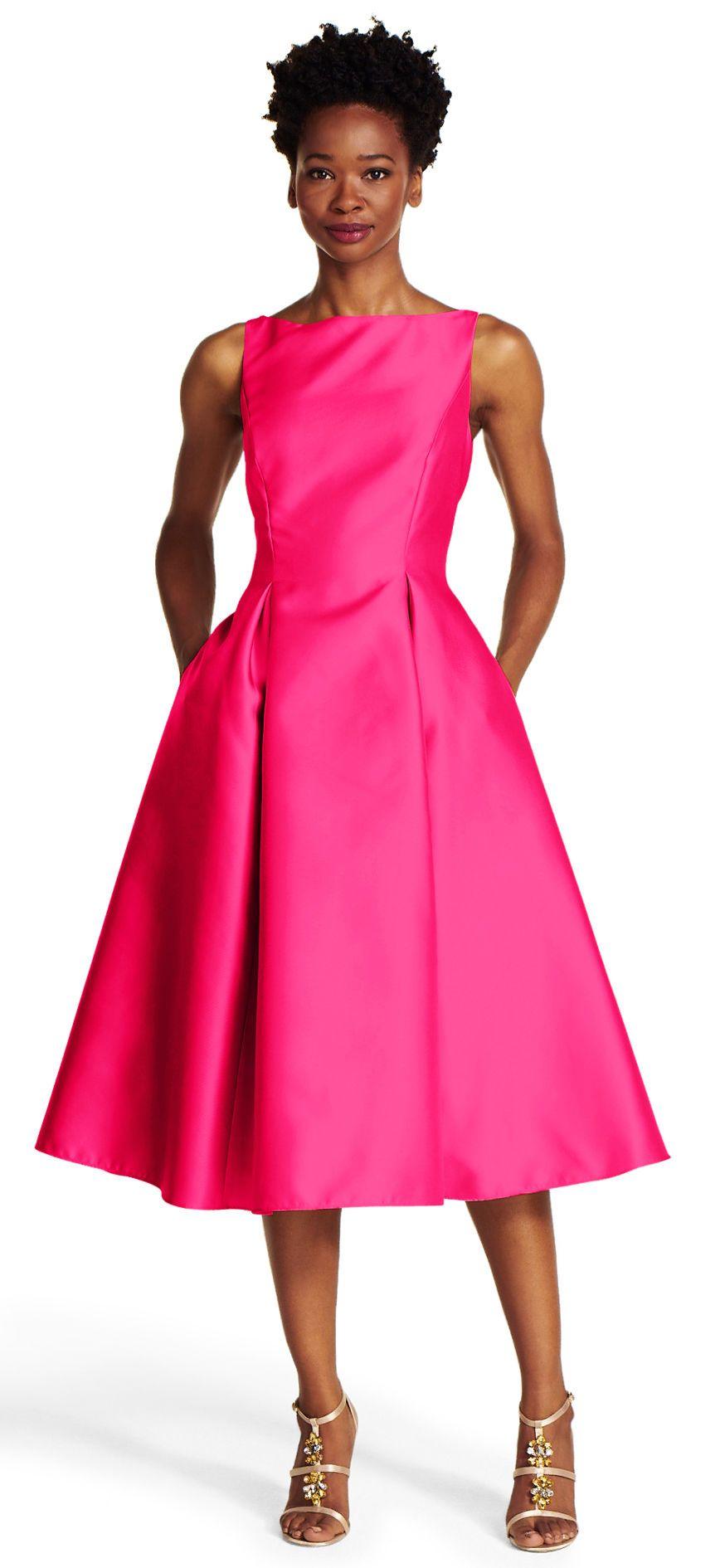Flare Midi Evening Dresses