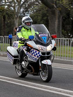 An Officer Of The Victoria Police The Primary Law Enforcement
