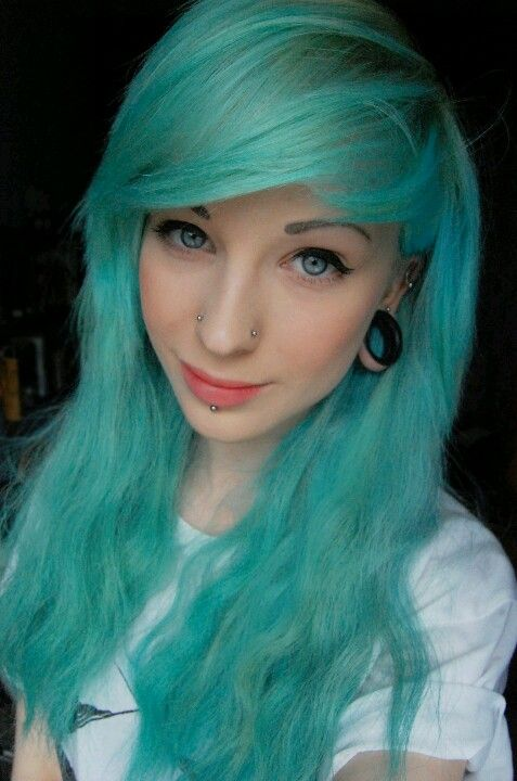 Pastel Blue Hair Grey Light Dye