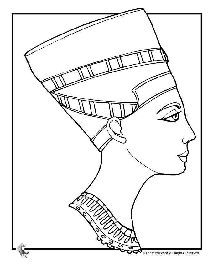 Ancient Egyptian Coloring Pages | Printable Coloring Pages | Art ...