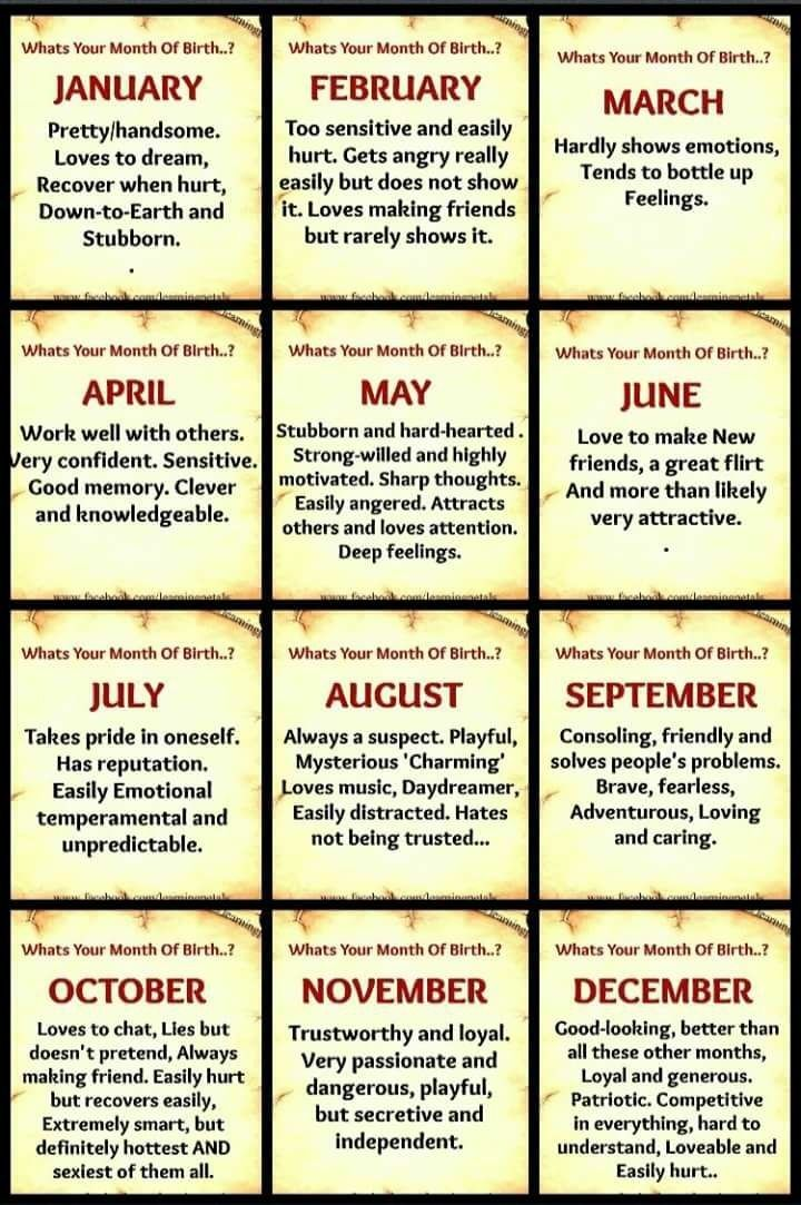 November on point but as for dangerous lol oooook