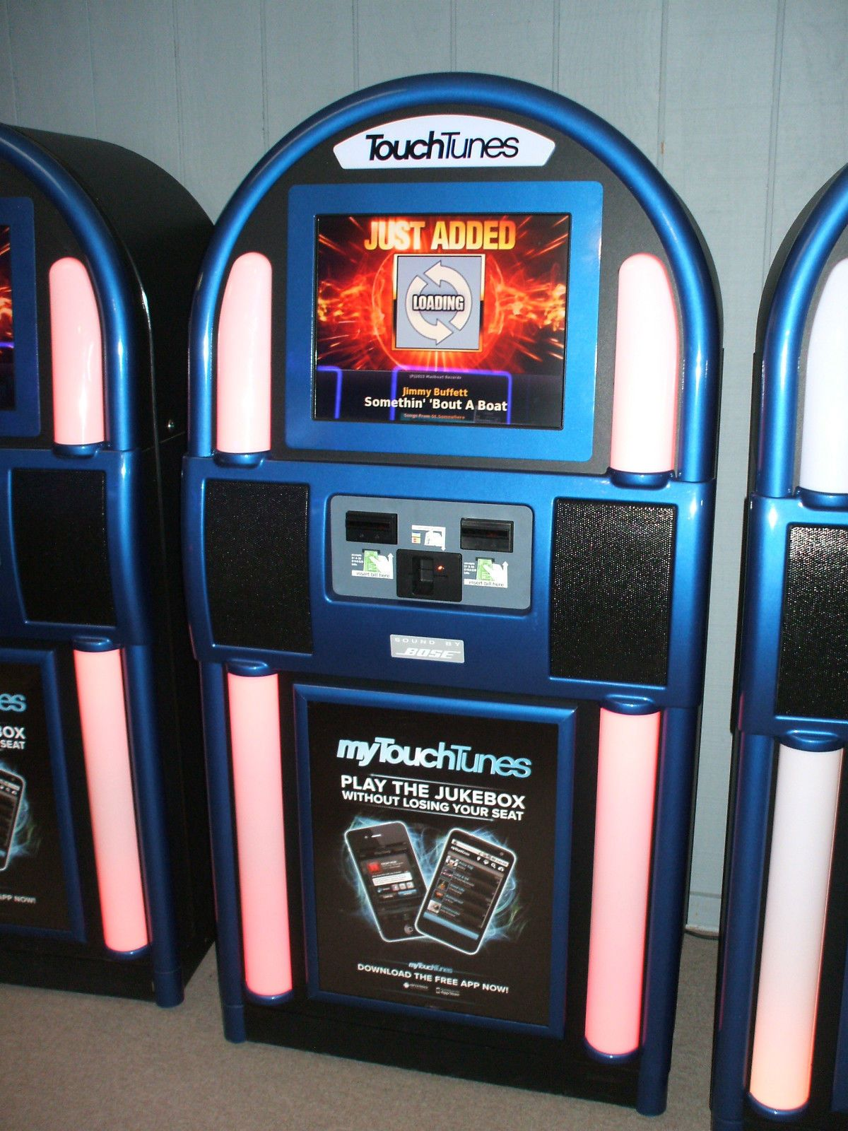 Used Touchtunes Allegro Ii Jukebox | vintage games and