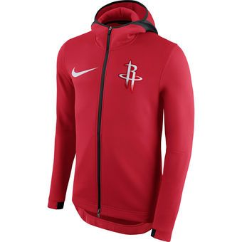 71bd0901a2 Nike Houston Rockets Red Therma Flex Showtime Full-Zip Hoodie  rockets   houston  nba