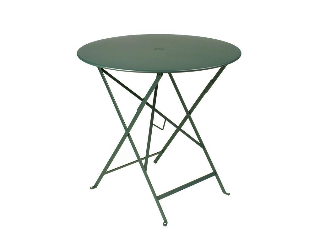 Table Bistro ronde 77 cm, table de jardin, table ronde ...