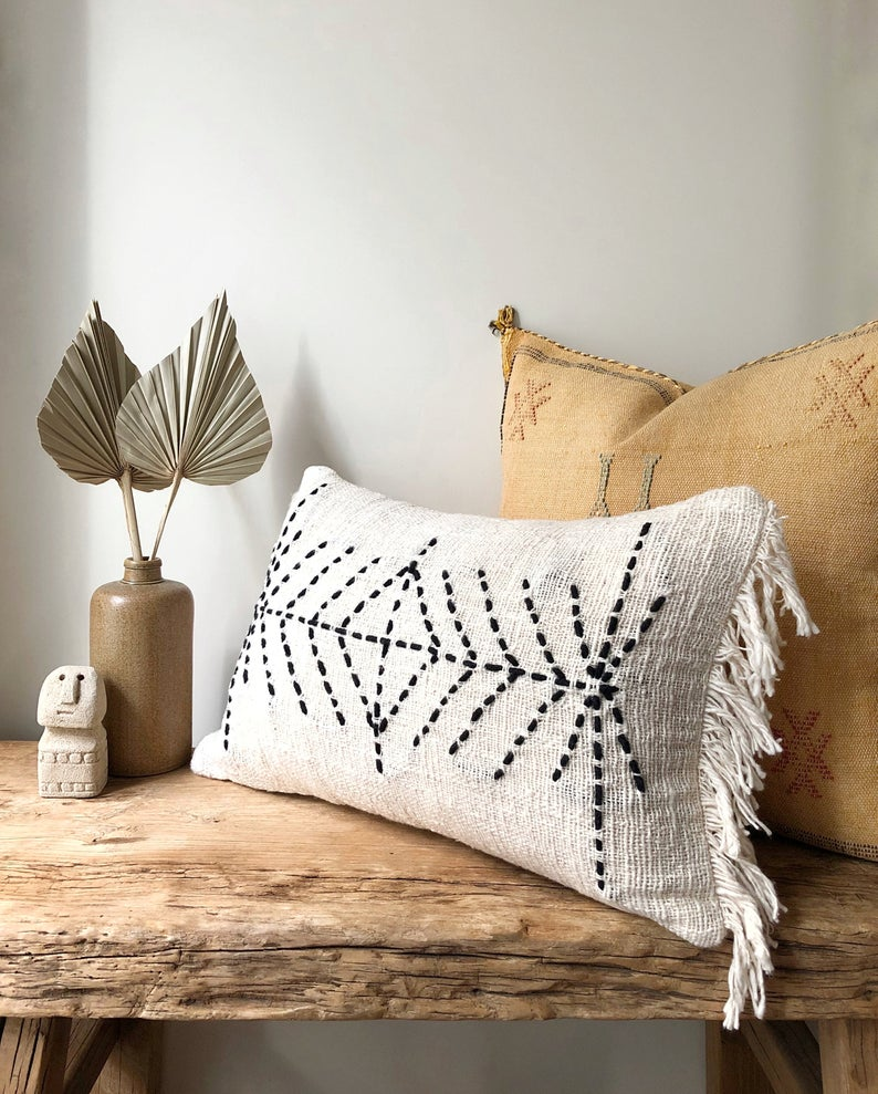 Indie Lumbar Pillow in 2020 | Pillows