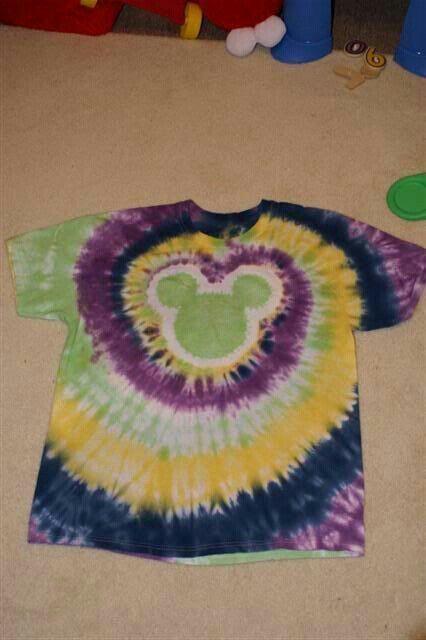 Cute Tie Dye Mickey Shirt Shirt Designs Pinterest Mickey Shirt