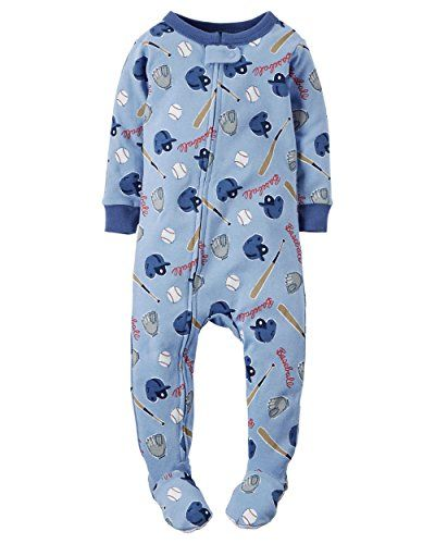 c4f17ad8f846 Carters Baby Boys Baseball Sleep Play 12 Month Blue     Continue to ...