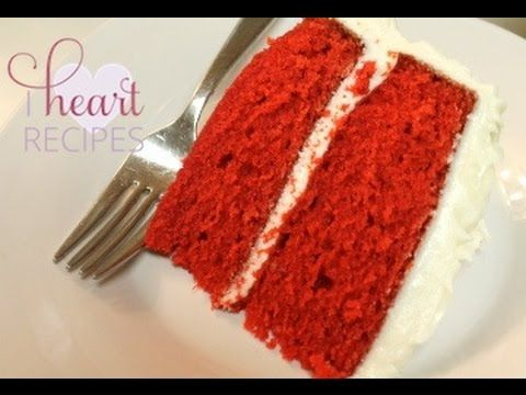 The Best And Easiest Red Velvet Cake Recipe I Heart Recipes Red Velvet Cake Recipe Velvet Cake Recipes Birthday Cake Flavors