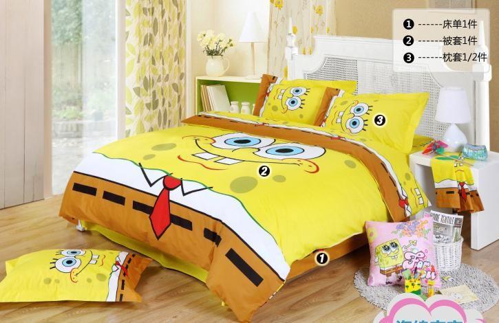 Spongebob queen bed comforters cool designs   Queen Beds ... : queen bed quilt cover size - Adamdwight.com