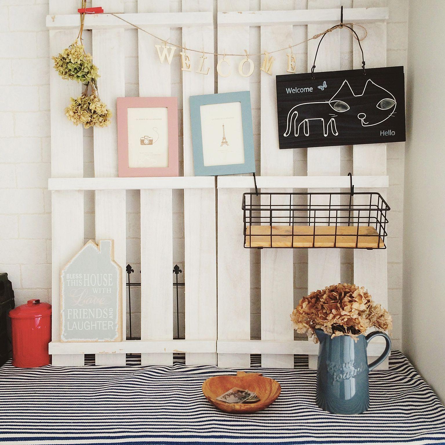 100 Diy Farmhouse Home Decor Ideas: DIY/セリア/玄関/入り口/100均/雑貨/ダイソー...などのインテリア実例