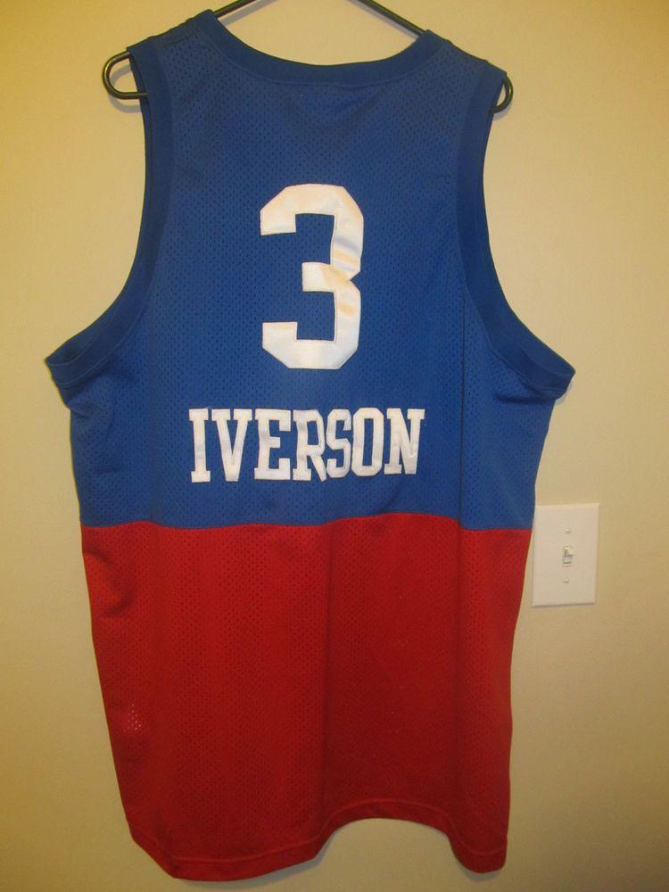 detailed look 2f218 209d6 Allen Iverson - Philadelphia 76ers Retro jersey - Nike Adult ...