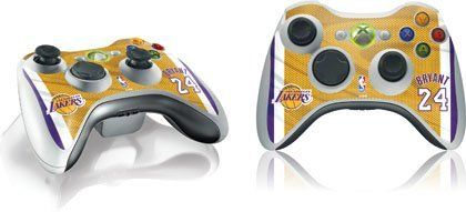 Skinit Kobe Bryant Los Angeles Lakers Jersey Vinyl Skin For 1 Microsoft Xbox 360 Wireless Controller By Skinit 11 Wireless Controller Video Games Pc Xbox 360
