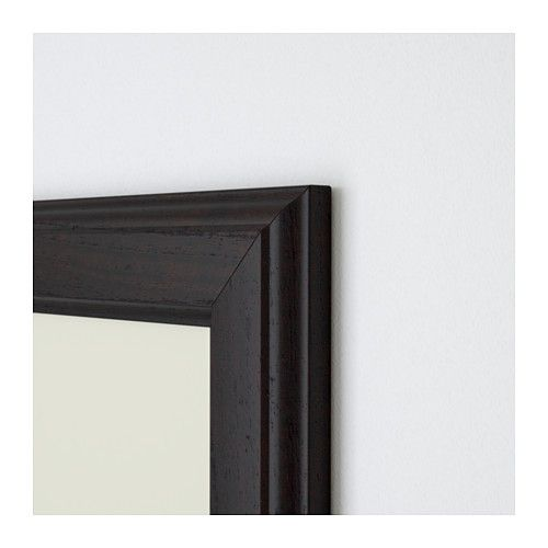 IKEA - VIRSERUM Frame dark brown | Sofa bed mattress, Bed mattress ...