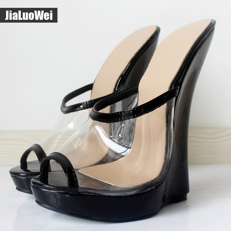 bde6935fde0 Multi Color Patent Leather Sexy 18cm Heels Women Sandals Metal Heels Ankle  Straps Cross Tied Slingbacks ...